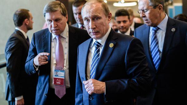 Vladimir Putin al G20 in Turchia - Sputnik Italia