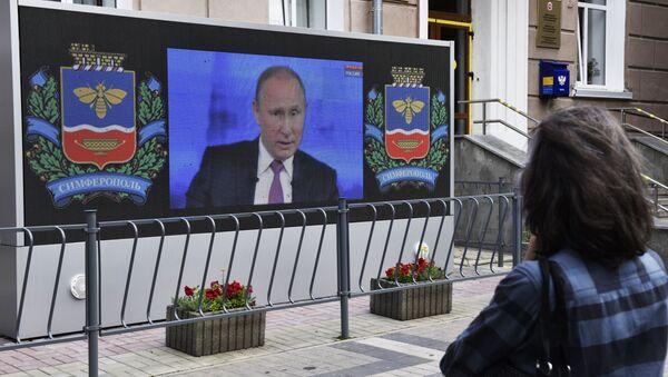La Linea Diretta del presidente Vladimir Putin - Sputnik Italia