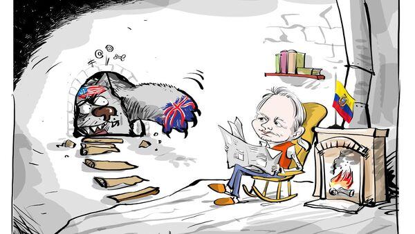 Assange: nel limbo dell'ambasciata dell'Ecuador da cinque anni a Londra - Sputnik Italia