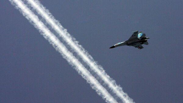 The Baltic Fleet Su-27 fighter squadron - Sputnik Italia