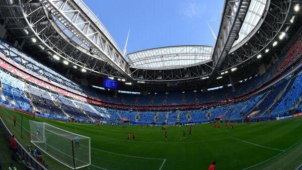 Lo stadio San Pietroburgo che ospiterà la finale della Confederations Cup - Sputnik Italia