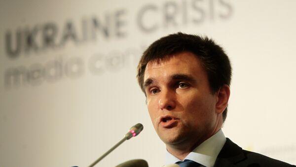 Ministro Esteri ucraino Pavlo Klimkin - Sputnik Italia