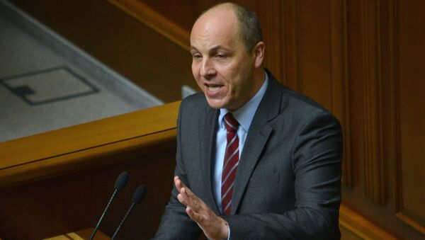 Presidente del Parlamento ucraino Andriy Paruby - Sputnik Italia