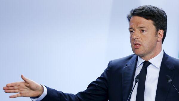 Presidente del Consiglio Matteo Renzi - Sputnik Italia