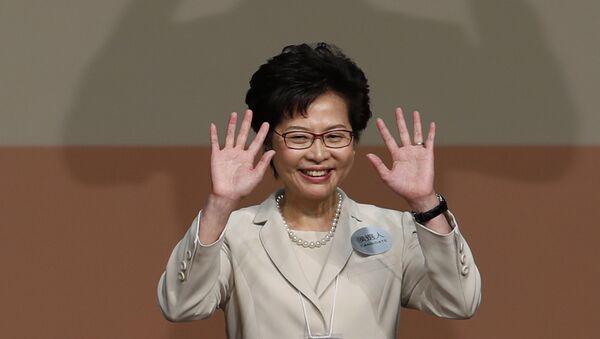 Carrie Lam, Capo esecutivo di Hong Kong - Sputnik Italia