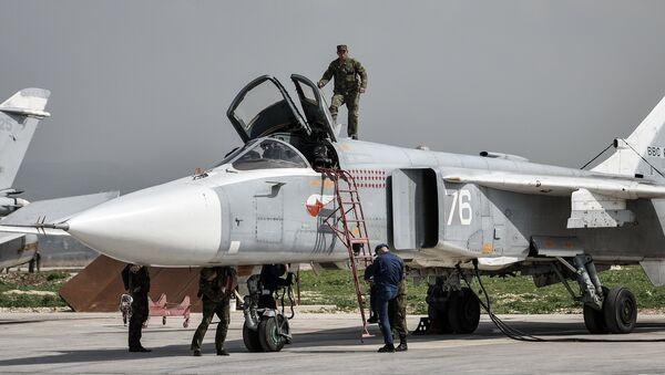 Hmeimim airbase in Syria - Sputnik Italia