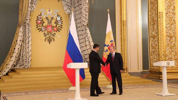 Vladimir Putin e Xi Jinping s'incontrano a Mosca - Sputnik Italia