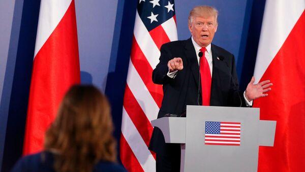 Donald Trump a Varsavia - Sputnik Italia