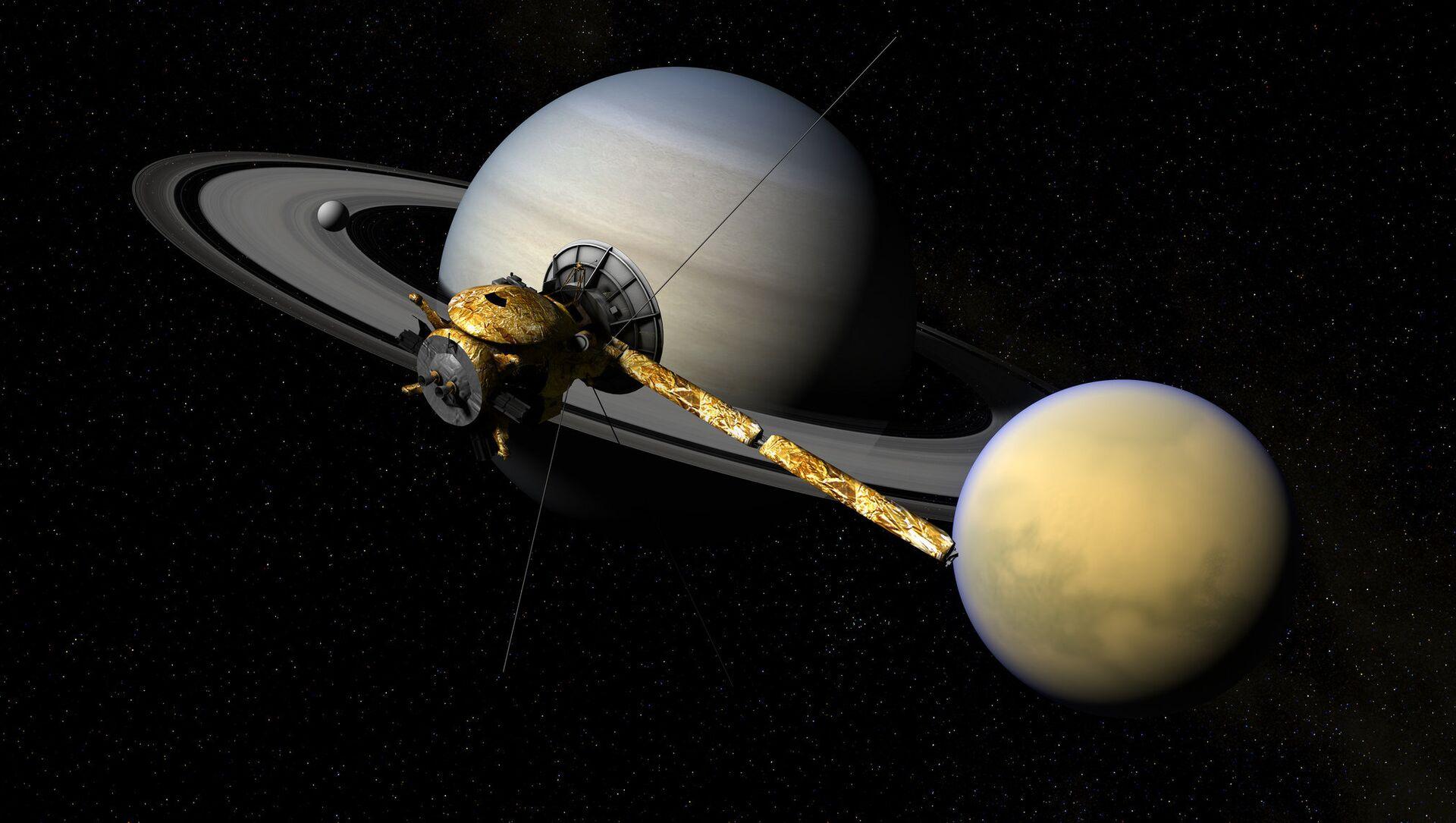 Cassini, Titan, & Saturn - Sputnik Italia, 1920, 29.03.2021