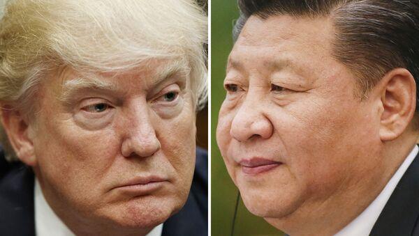 Donald Trump e presidente cinese Xi Jinping - Sputnik Italia