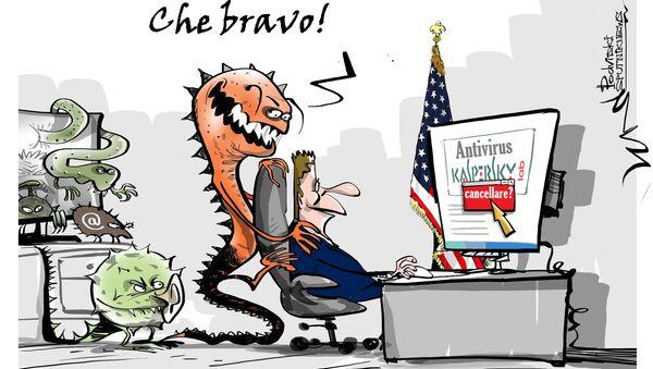 L'amministrazione Trump ha rimosso la Kaspersky Lab dagli elenchi di fornitori i cui prodotti utilizzabili dalle agenzie governative. - Sputnik Italia