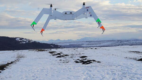 Il drone che sarà presentato al salone MAKS-2017 - Sputnik Italia