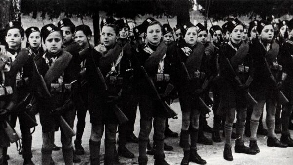 Adunata dei Balilla fascisti, 1928 - Sputnik Italia