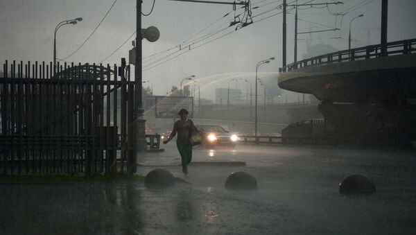 Rain in Moscow 30.06.2017 - Sputnik Italia