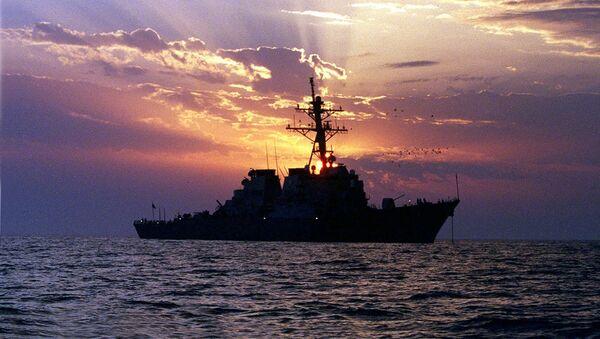 Un cacciatorpediniere USA. (foto d'archivio) - Sputnik Italia