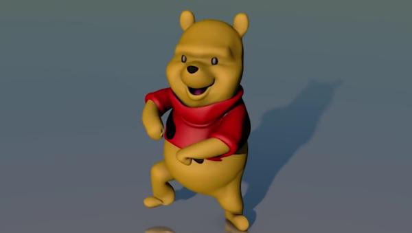 winnie the pooh dancing to songs - Sputnik Italia