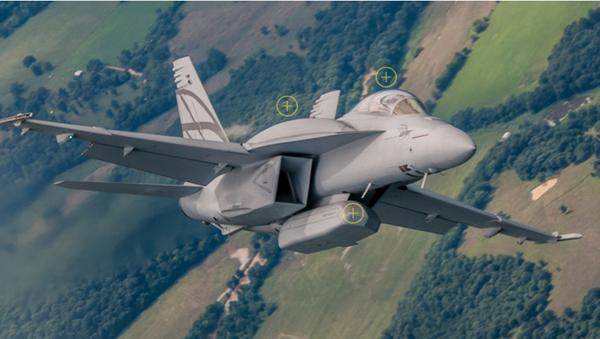 Boeing F-18 Super Hornet - Sputnik Italia