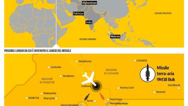 Abbatimento del Boeing malese - volo MH17 - Sputnik Italia