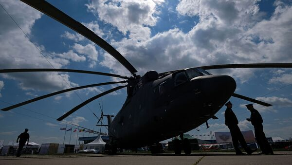 Elicotteto Mi-26 - Sputnik Italia