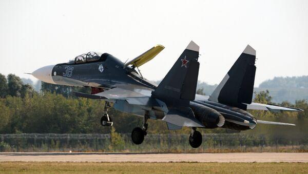 Il caccia Sukhoi Su-30SM - Sputnik Italia