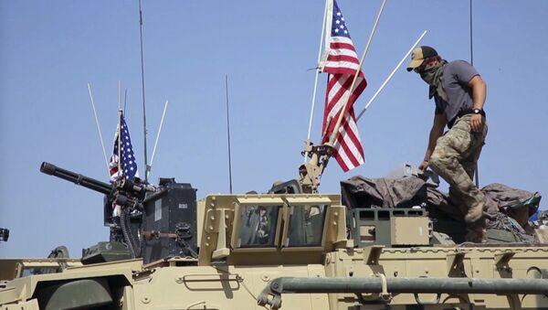 Mezzi militari americani in Siria - Sputnik Italia