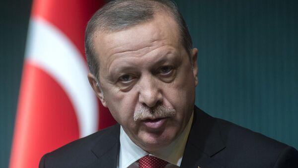 Presidente turco Recep Tayyip Erdogan - Sputnik Italia