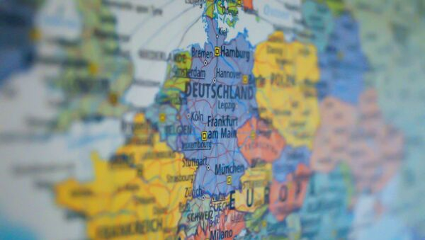 Map of Europe - Sputnik Italia