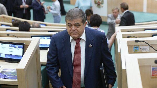 Vladimir Dzhabarov, primo vicepresidente della commissione Affari esteri del Consiglio Federale - Sputnik Italia