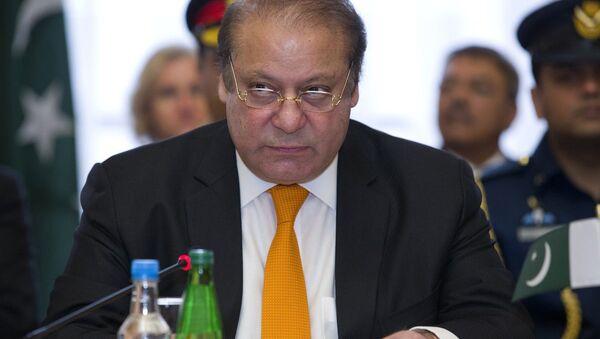 Il primo ministro pakistano Nawaz Sharif - Sputnik Italia