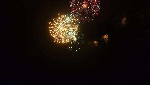 Fuochi d'artificio chiudono il giorno della Marina Militare - Sputnik Italia