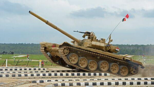 Il Biathlon dei carri armati. Il terzo giorno dei Giochi Militari - Sputnik Italia