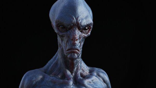 Immagine di un alieno in 3D - Sputnik Italia