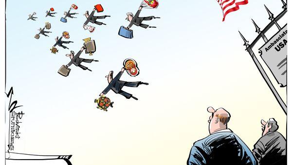Espulsione diplomatici USA dalla Russia - Sputnik Italia