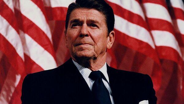 Reagan in Minneapolis, Minnesota, 1982 - Sputnik Italia