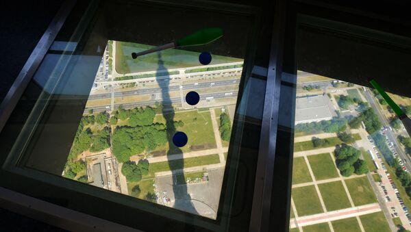 Punto panoramico sulla torre televisiva di Ostankino a Mosca - Sputnik Italia