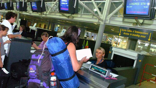 Airport Counter in Europe - Sputnik Italia
