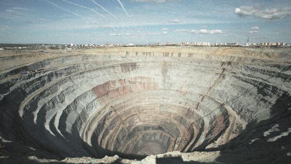 "La miniera ""Mir"" - Sputnik Italia"