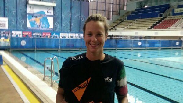 Federica Pellegrini alla piscina Olimpiyskiy di Mosca - Sputnik Italia