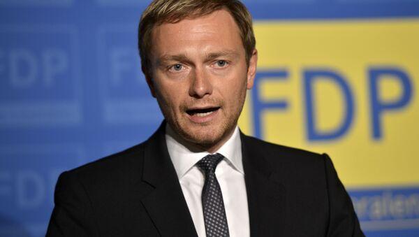 Lindner leader del FDP - Sputnik Italia