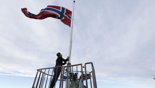 Norwegian flag (File) - Sputnik Italia