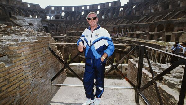 Gasgoigne al Colosseo - Sputnik Italia