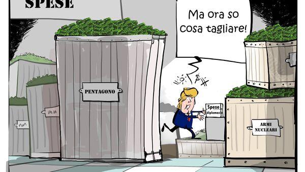 Trump ringrazia la Russia per l'espulsione dei propri diplomatici dicendo che così Washington potrà risparmiare sugli stipendi - Sputnik Italia