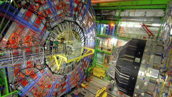 Una parte dell'acceleratore Large Hadron Collider - Sputnik Italia