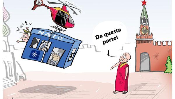 Dalai Lama sogna trasloco del quartier generale NATO a Mosca - Sputnik Italia