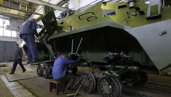 Fabbrica di armamenti ucraina - Sputnik Italia