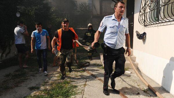 Incendio a Rostov - Sputnik Italia