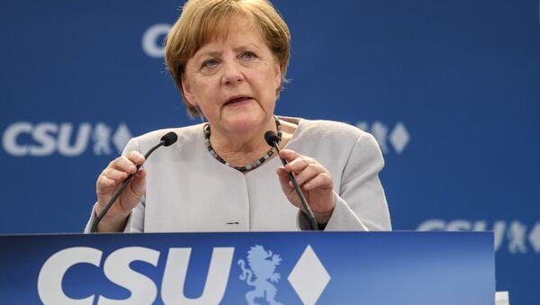 Il cancelliere tedesco Angela Merkel - Sputnik Italia