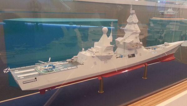 Modellino del cacciatorpediniere russo Leader - Sputnik Italia
