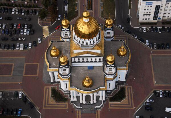 Il cattedrale di San Teodoro Ushakov a Saransk, Russia. - Sputnik Italia