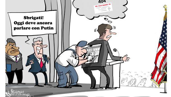 Il presidente russo Vladimir Putin ha ridicolizzato oggi gli Stati Uniti per aver posto la Russia sulla stessa lista delle sanzioni come la Corea del Nord e l'Iran e poi chiedendo a Mosca di unire gli sforzi in un nuovo turno di sanzioni contro Pyongyang. - Sputnik Italia